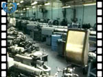 1993 Interior of Empty Timex Plant, Dundee (silent video clip)