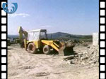 1985 Building Site at Craobh Haven (silent video clip)