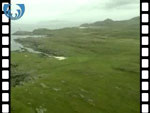 Aerial View of Ardnamurchan Point (silent video clip)
