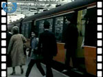 1985 Trains at Central Station (silent video clip)