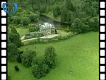 Aerial View of Achnacarry House (silent video clip)