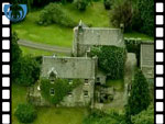 Aerial View of Dachrae Castle (silent video clip)