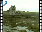 Aerial View of Ackergill Tower (silent video clip)
