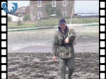 Haaf netter catches a salmon (video clip)